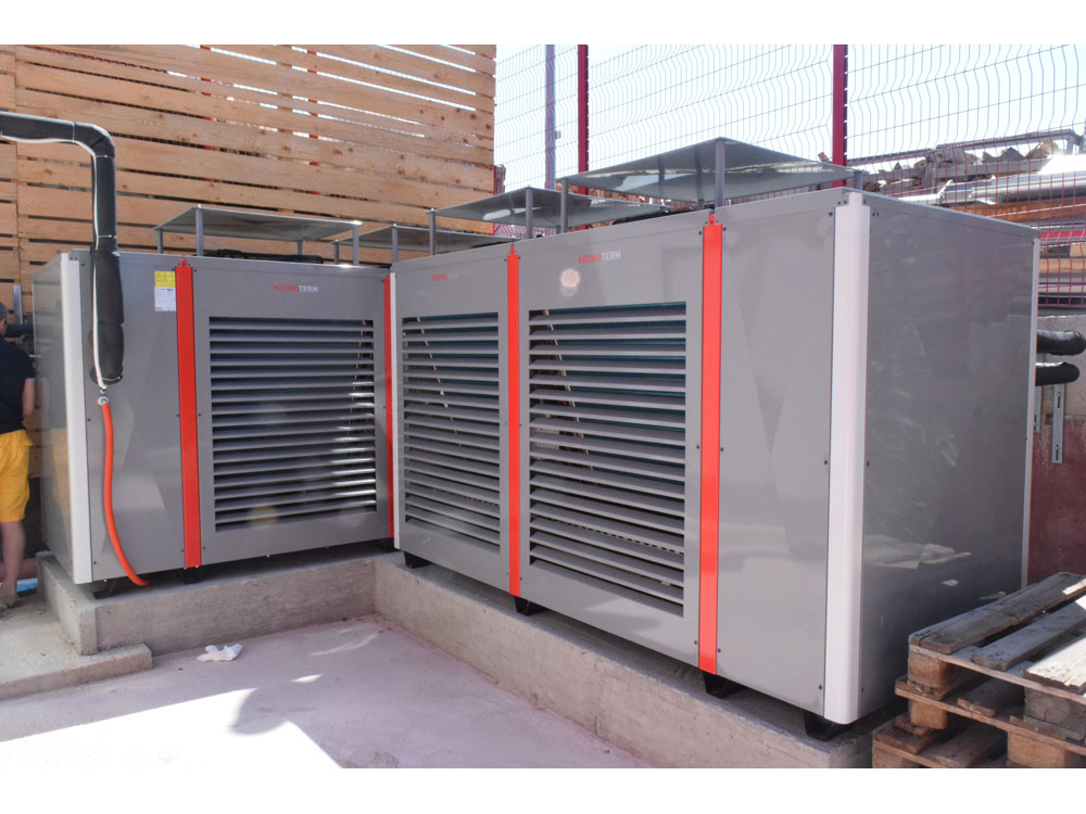 heat pump commercial install 5